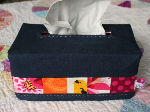 Tissue Box Cozy Tutorial | by threekitchenfairies