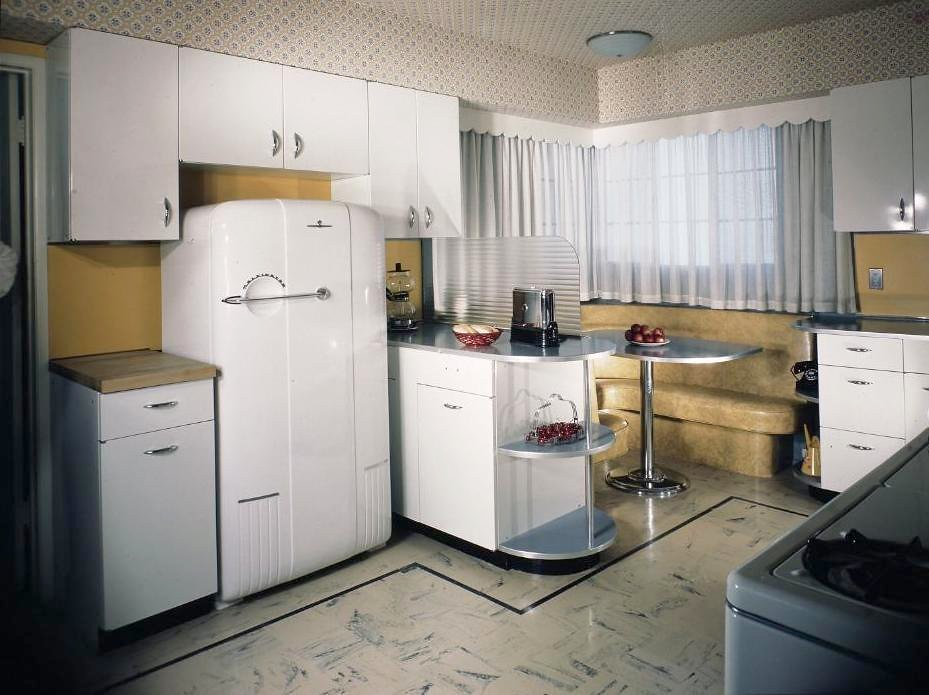1940s Kitchen | Maynard Parker, photographer. Photo from ...
