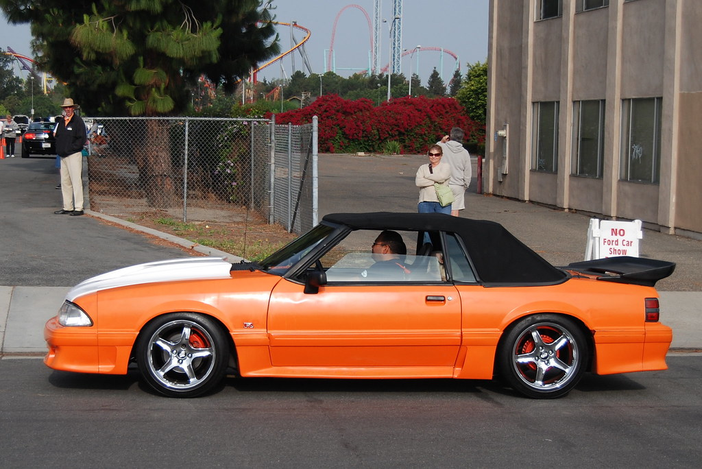 Ford Mustang 5 0 Gt Foxbody Convertible With Svt Cobra R S
