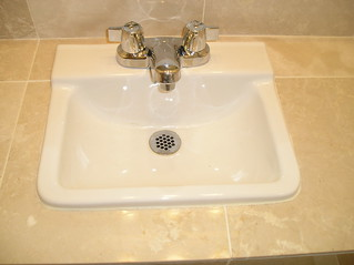 Poorly installed small sink | by parkview dc