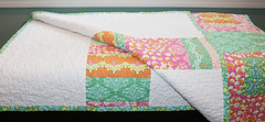Patchwork Throw Folded | by Fresh Lemons : Faith