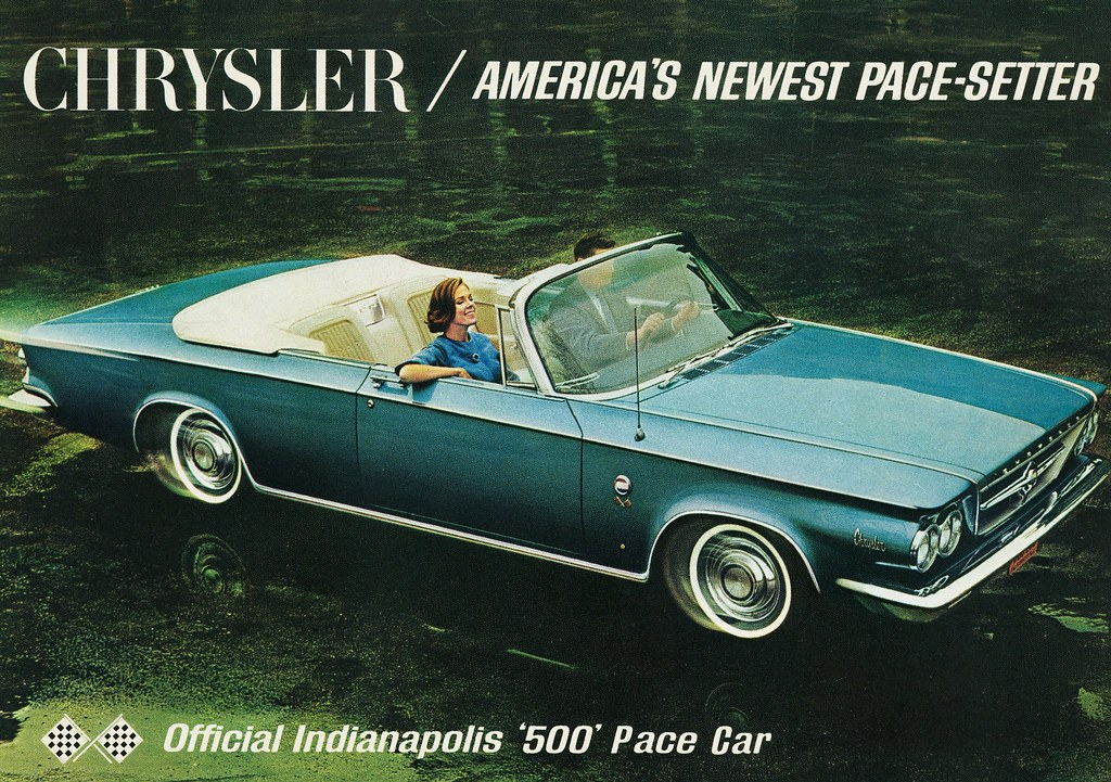 Chrysler 300 Convertible >> 1963 Chrysler 300 Indy Pace Car | The 300 Convertible was th… | Flickr