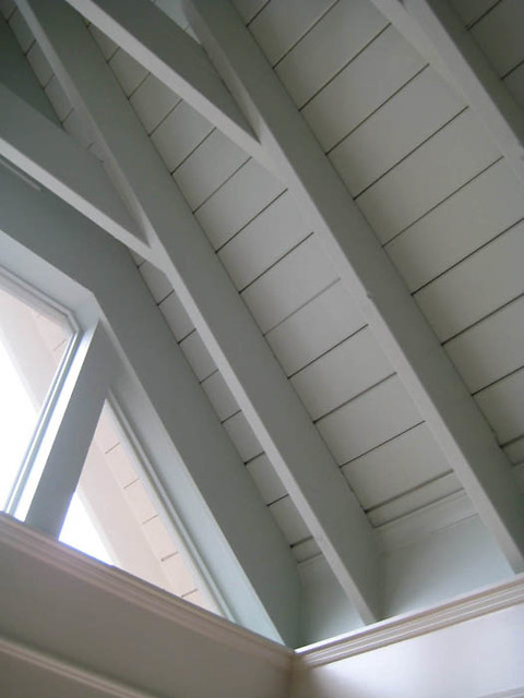 Bead Ceiling Beam Detail Bead Board Ceiling Painted A