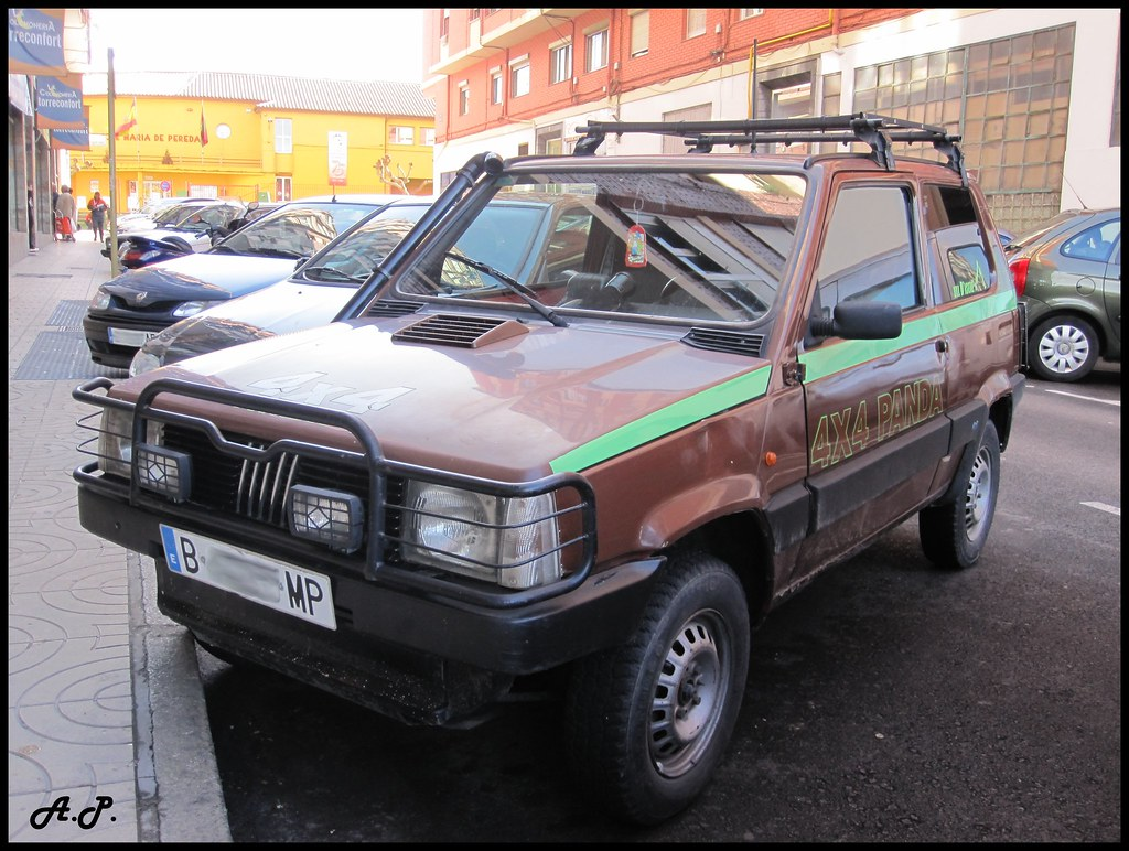 1991 fiat panda 4x4 l val d 39 is re r plica so cool with t flickr. Black Bedroom Furniture Sets. Home Design Ideas