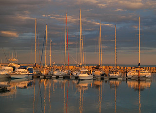 sailboats of Saintes-Maries-de-la-Mer | by Kathy Fenton