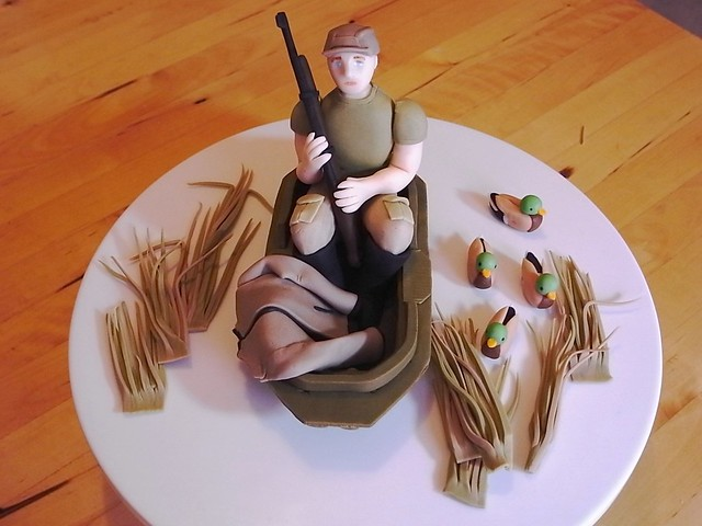 duck hunting wedding cake toppers duck cake topper fondant cake topper for a 13777