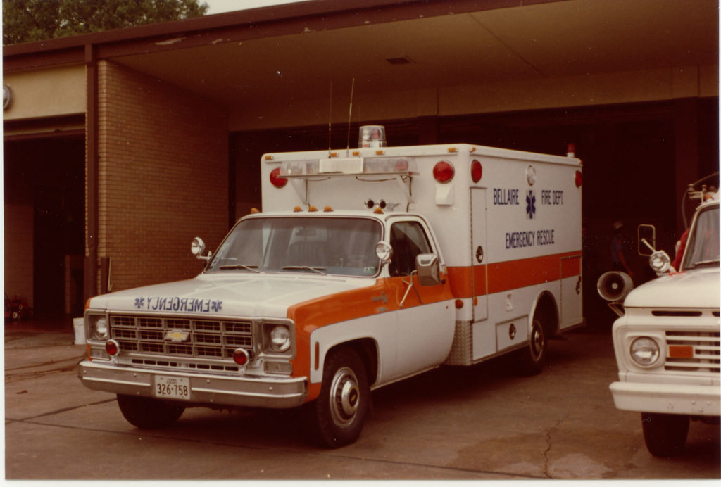 Bellaire Fire Departments First Modular Ambulance 1978