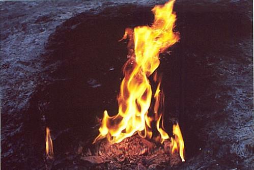 Eternal Fire of the Chimera, Olympus, Turkey April 2001  Flickr