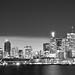 Toronto skyline BW