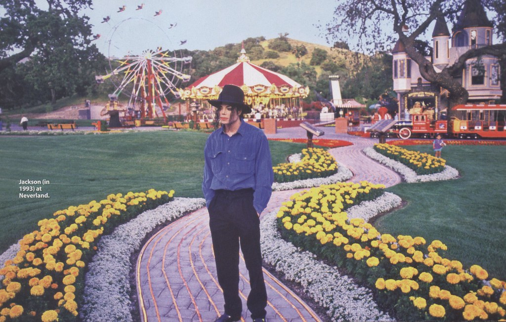 michael jackson at neverland valley ranch here is a set