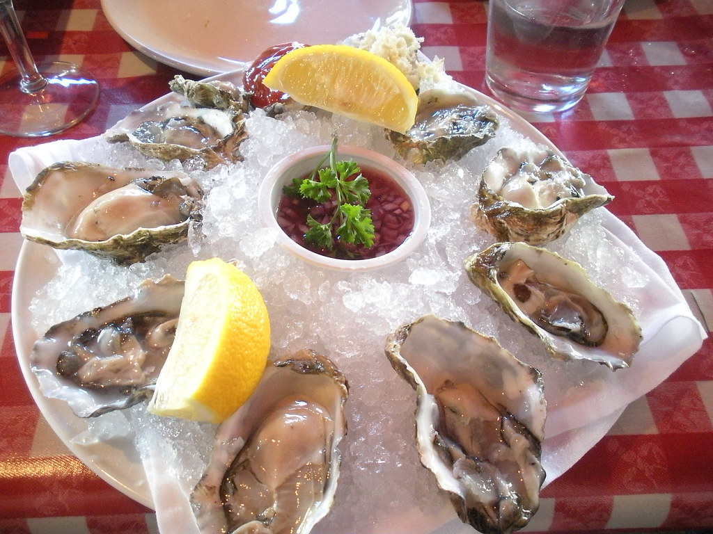 King 39 s fish house long beach oyster sampler htomren for King s fish house long beach ca