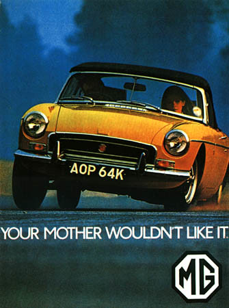 Old Car Advert Posters