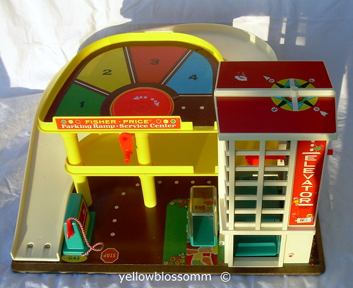 Fisher Price Parking Garage | by yellowblossomm