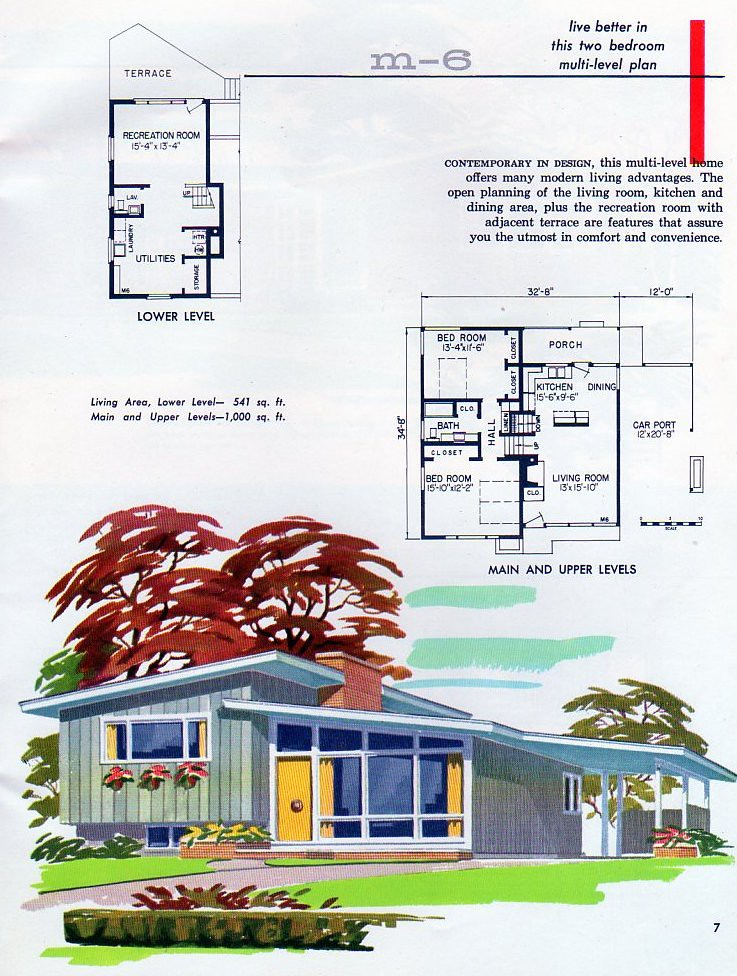 Wf Rosser Lumber Co Plan M 6 The Great Style Negates