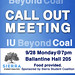 Coal Free IU Call Out Poster