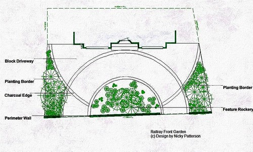 Circular Driveway Design Driveway Design Plan By Nicky