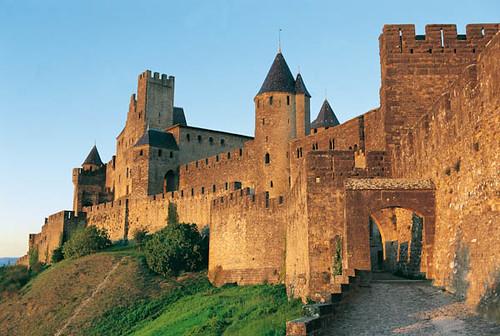 cit de carcassonne aude france cit de carcassonne cathar flickr. Black Bedroom Furniture Sets. Home Design Ideas