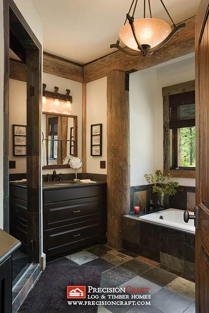 Custom Master Bathroom Post Amp Beam Home Precisioncraft