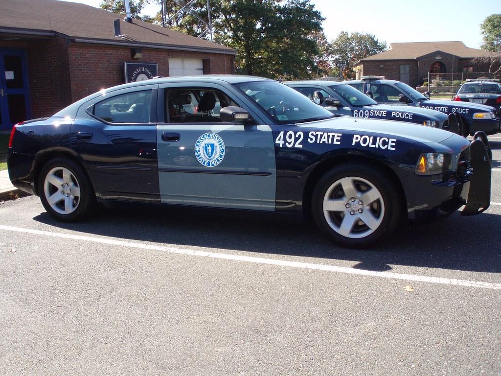 Massachusetts State Police Dodge Charger Massachusetts
