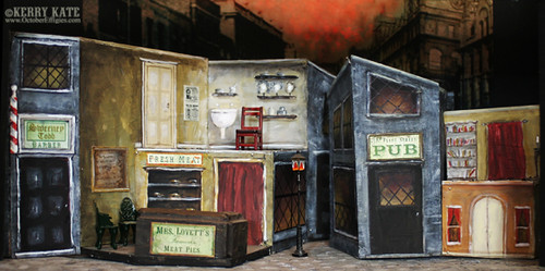 Sweeney Todd Set Model 2003 Final For Theatre Design