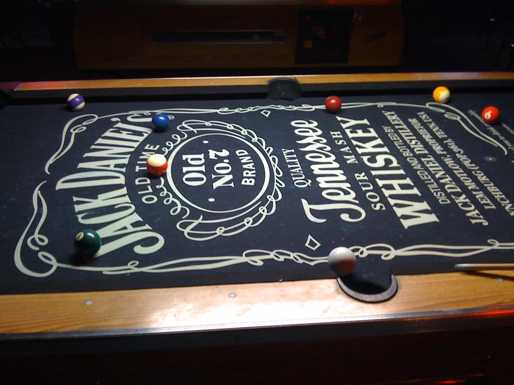 Superb Jack Daniels Pool Table | Nathan Cooper | Flickr
