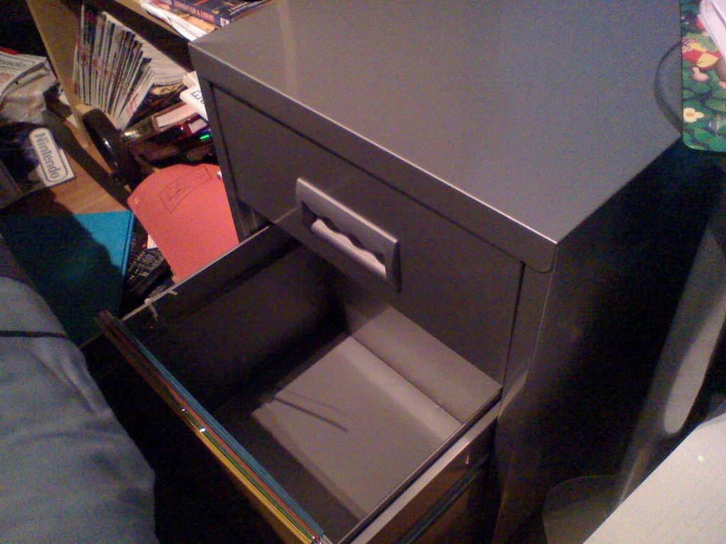 Filing Cabinet Open Drawer My Filing Cabinet Taken With