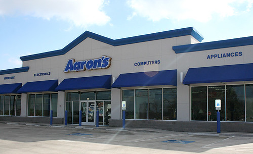Aaron 39 s rents furniture retail store we 39 ve designed two for Aarons furniture rental