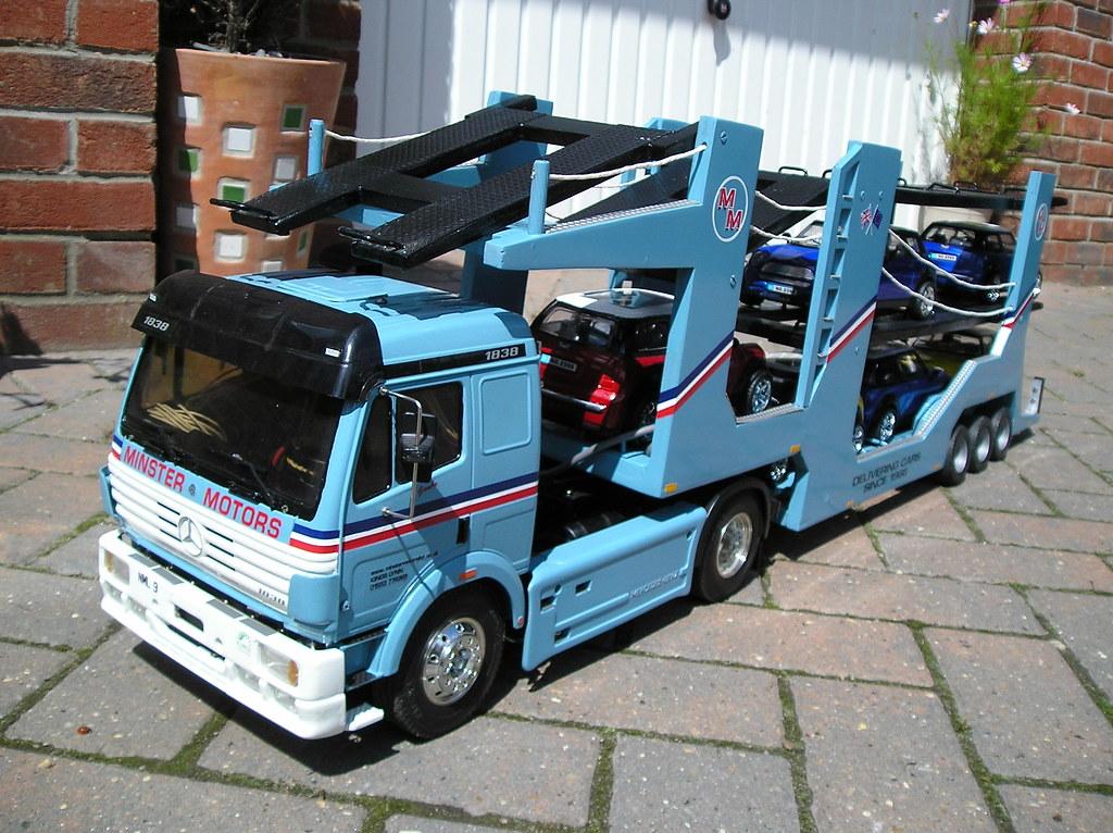 Minster Motors Tamiya Truck R C Car Transporter Iangam