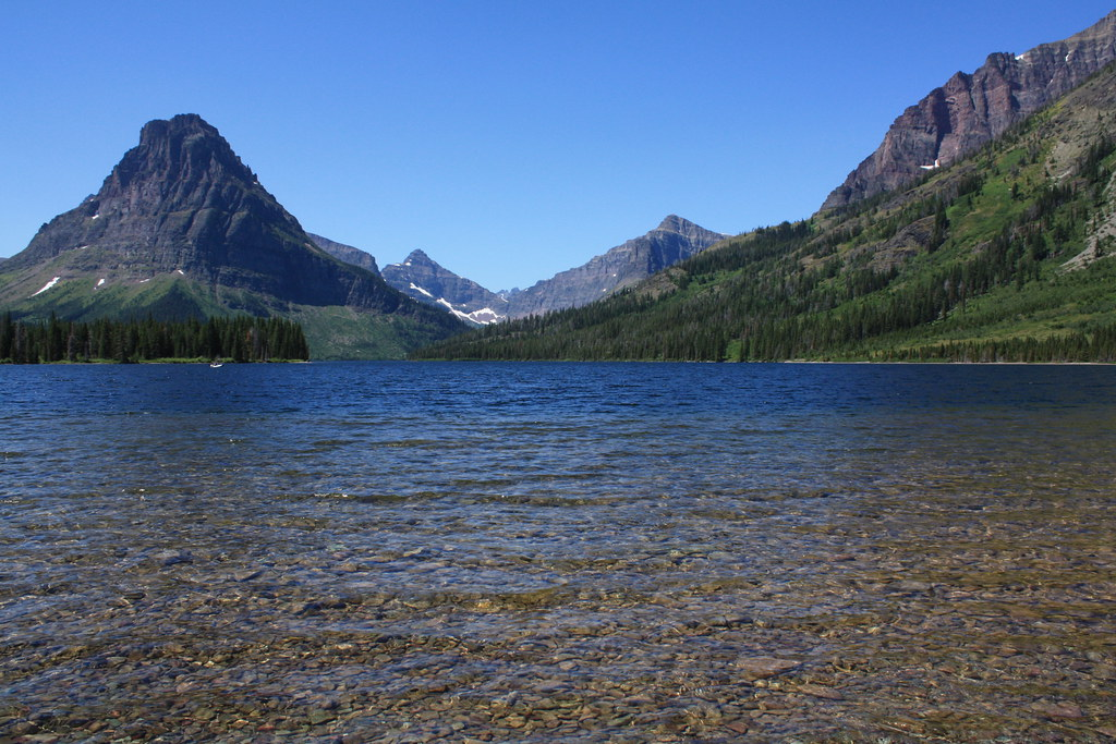 Two Medicine Lake in G...