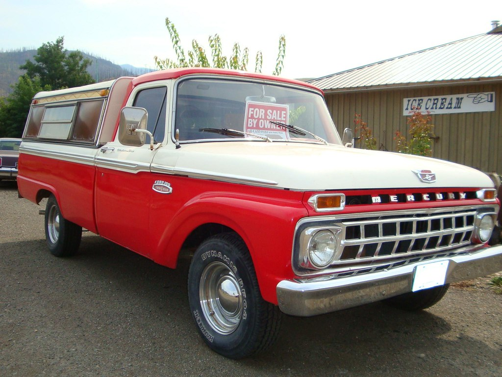 1965 Mercury M-100 Pickup Truck (Ford of Canada)   Country ...
