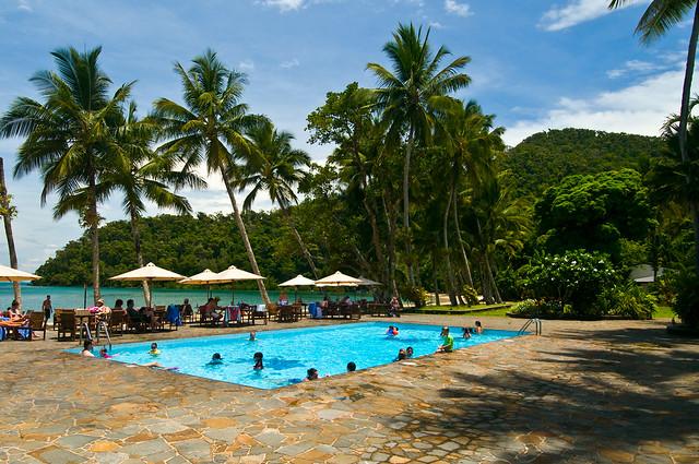 Dunk Island Resort: Pool Area At Dunk Island Resort