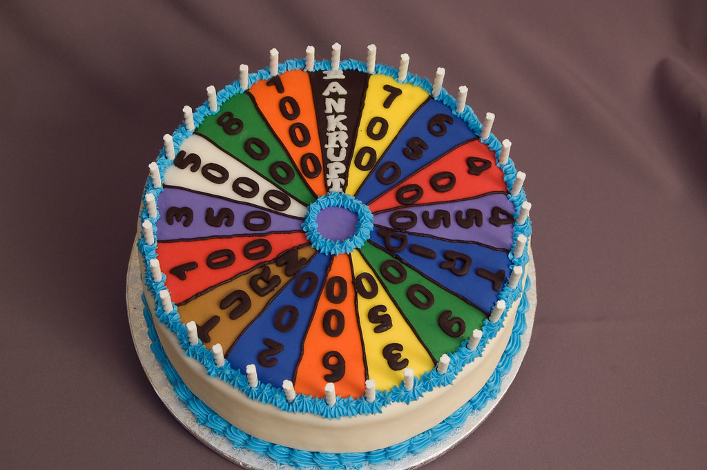 Wheel Of Fortune Cake Cake Was Done For A Guy Who S