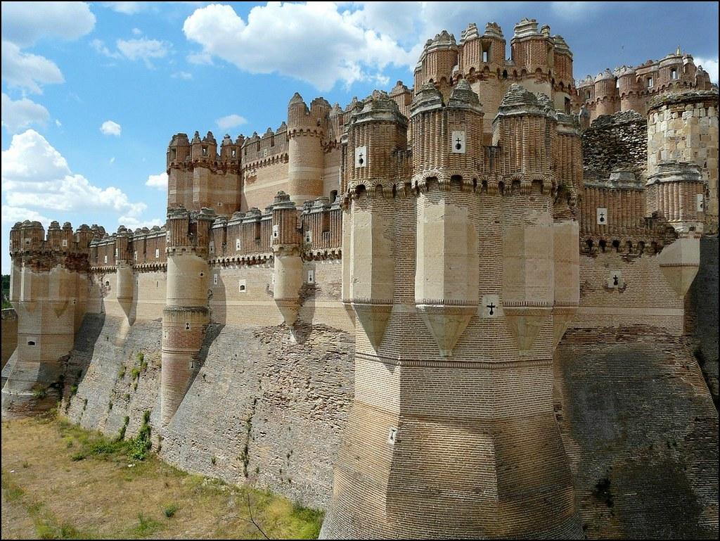 Castillo De Coca Segovia Castillo G U00f3tico Mud U00e9jar Del