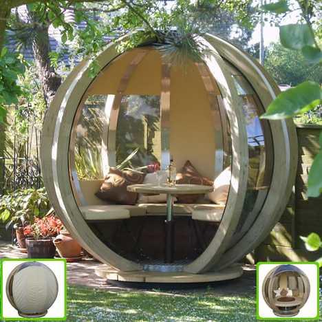 dome meditation pod lessmoneymoreliving flickr. Black Bedroom Furniture Sets. Home Design Ideas