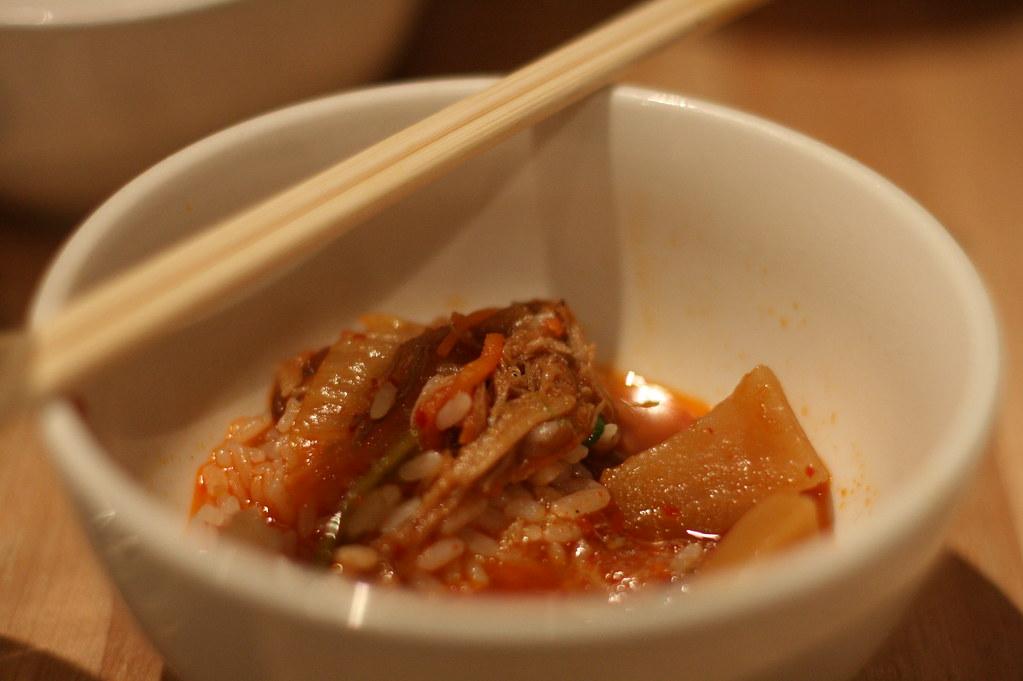 Kimchi Stew | Kimchi Stew Braised Kimchi, Rice Cakes ...
