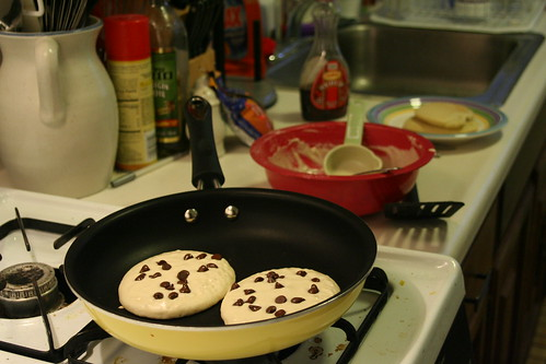 Chocolate Chip Gluten Free Pancakes | by Jennifer Lynn Photos & Design