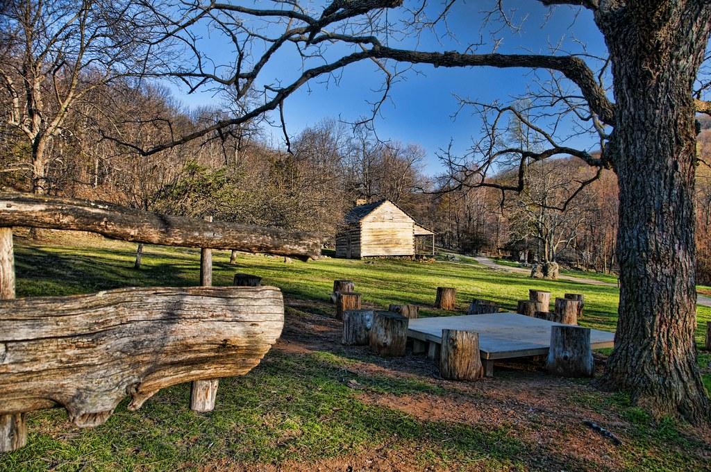 Old Farm on Blue Ridge Parkway | Taken with Nikon D300 in ...
