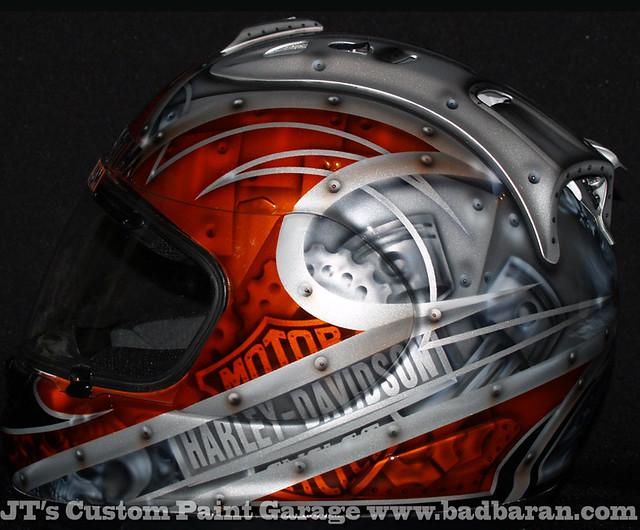 Motorcycle Helmet Painting Newcastle Australia