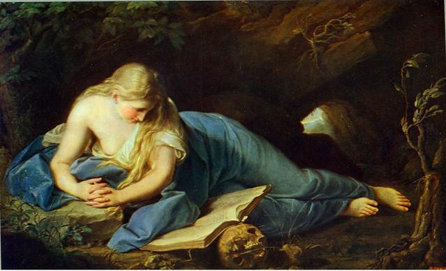St Mary Magdalene Creator Batoni Pompeo 1708 1787