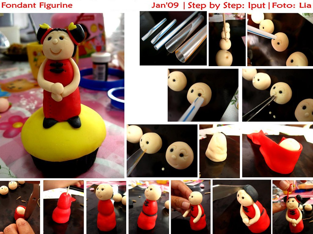 Tutorial How To Make Fondant Figurine  Once Againthis -1724
