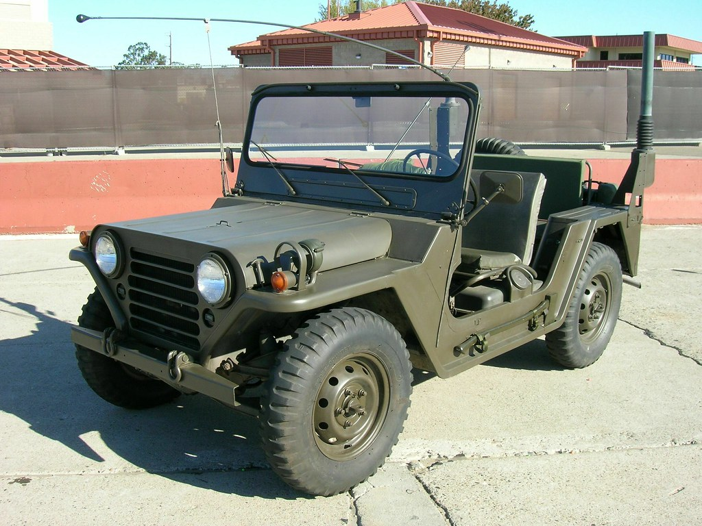 1959 82 Ford M151 Mutt 188 Ton Utility Truck With Snorkel 1