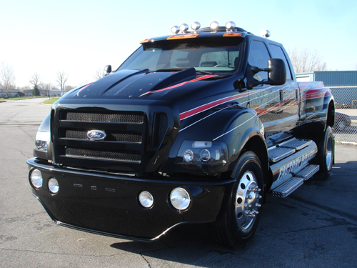 "f650 pickup | custom ford f650 pickup a.k.a""factory bullet ..."