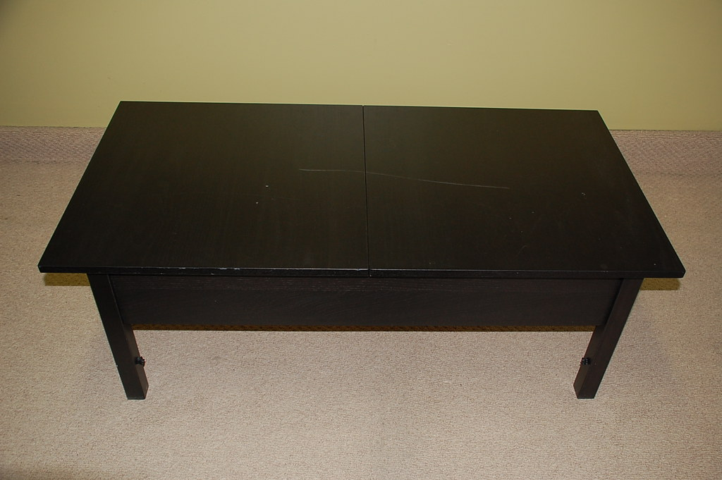 Ikea Coffee Table W Leaf Storage 45 Dims 17 5 Tall X Flickr