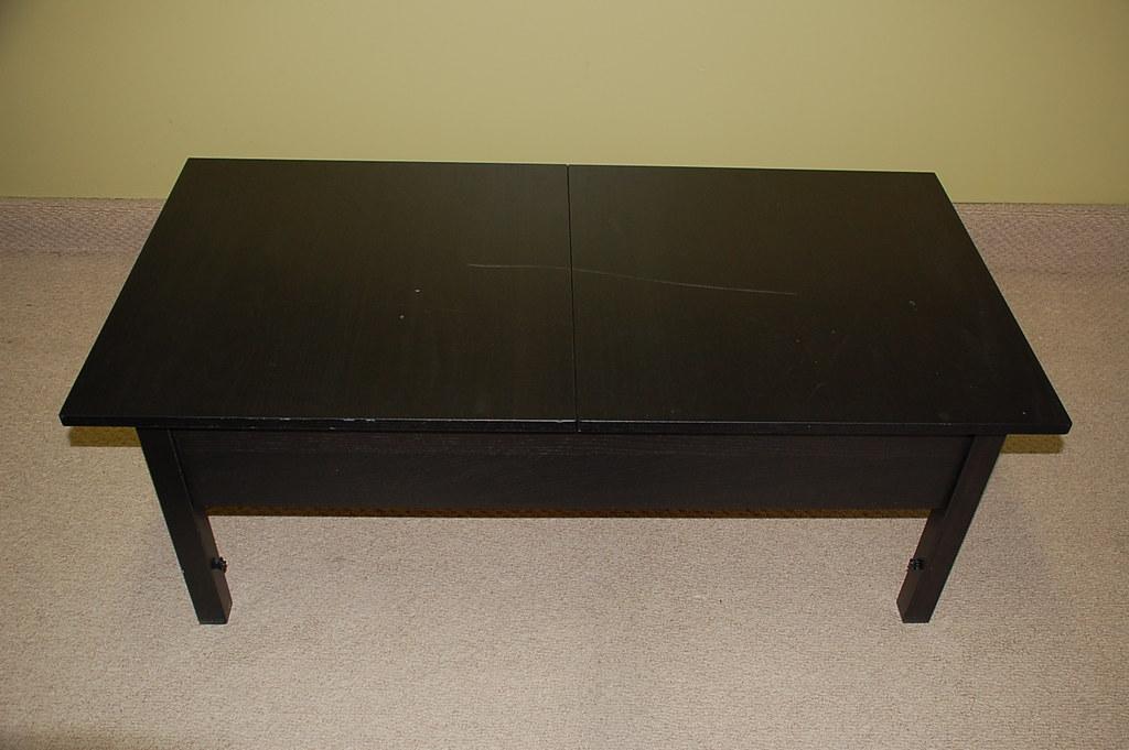 Ikea Coffee Table W Leaf Storage 45 Dims 17 5 Tall X Flickr