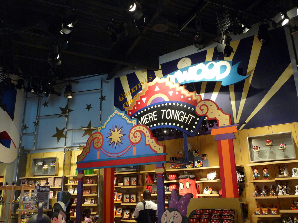 Greeting From California Store Disney S California