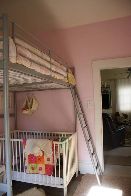 The Girls Room Tromso Loft Bed Gulliver Crib Jessica