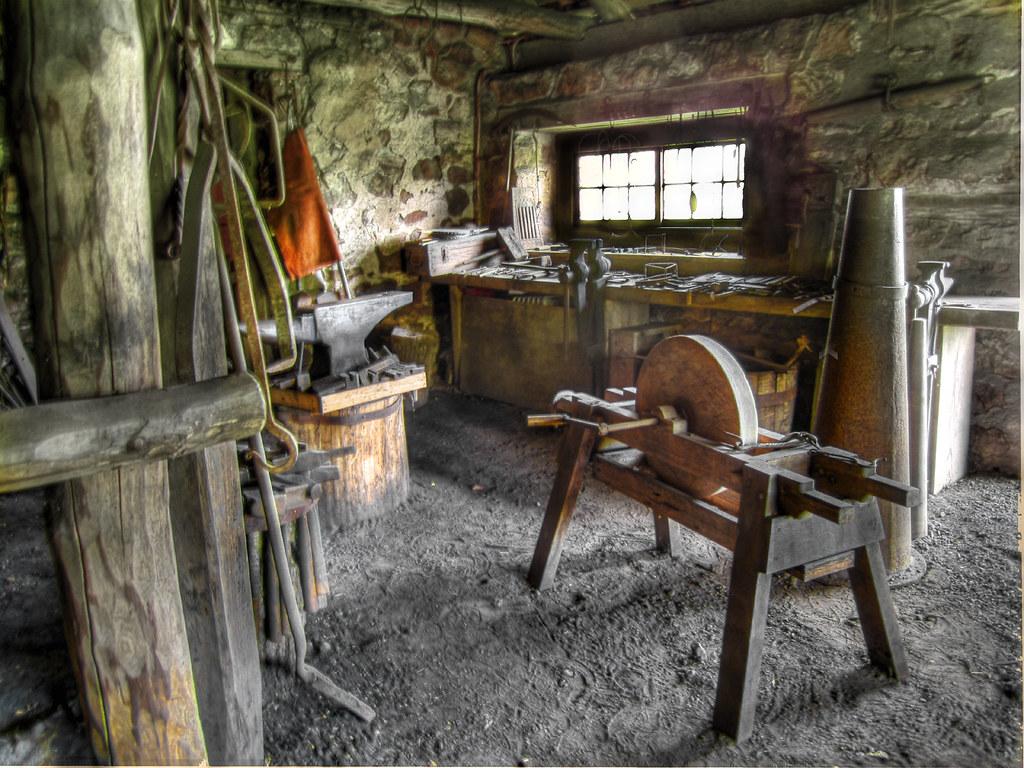 The Blacksmith Shop Hopewell Furnace National Historic