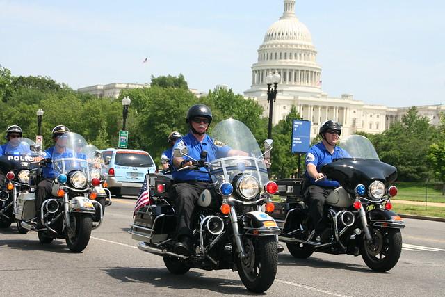 Police Unity Tour Distance