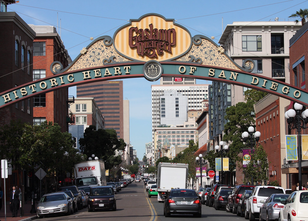 Historic Heart of San Diego | ...This is one of the main ...