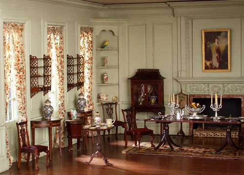 Georgian Dolls House Room Ideas